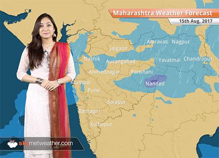 Maharashtra Weather Forecast for Aug 15: Rain in Mumbai, Pune, Nagpur, Chandrapur; dry weather in Jalgaon, Aurangabad