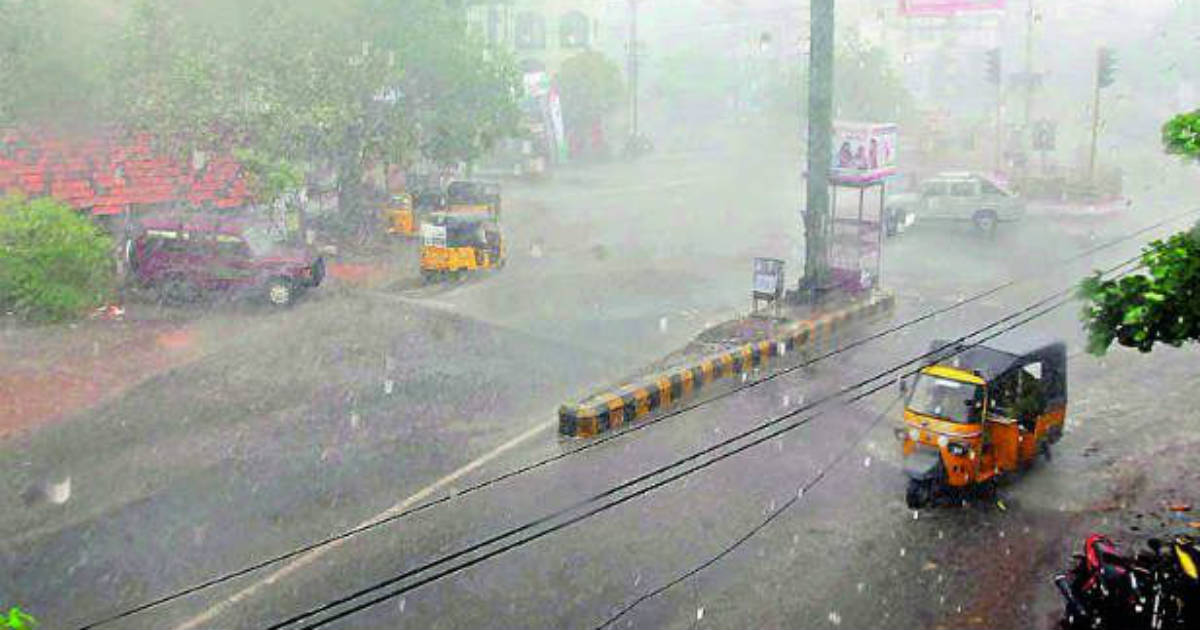 Heavy Rain forecast for TN & Puducherry for next 72 hours