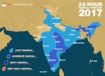 Southwest Monsoon forecast for September 6 across India