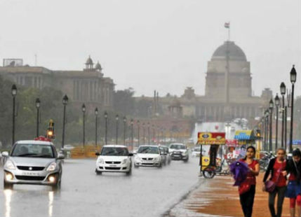 Delhi monsoon rains