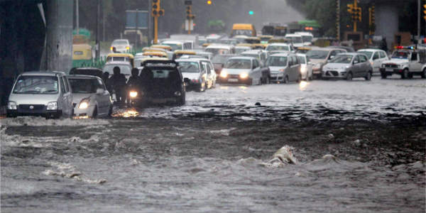 At 68 mm, heavy Delhi rains make a comeback
