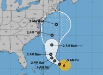 Jose to gain Hurricane status again, to move towards US
