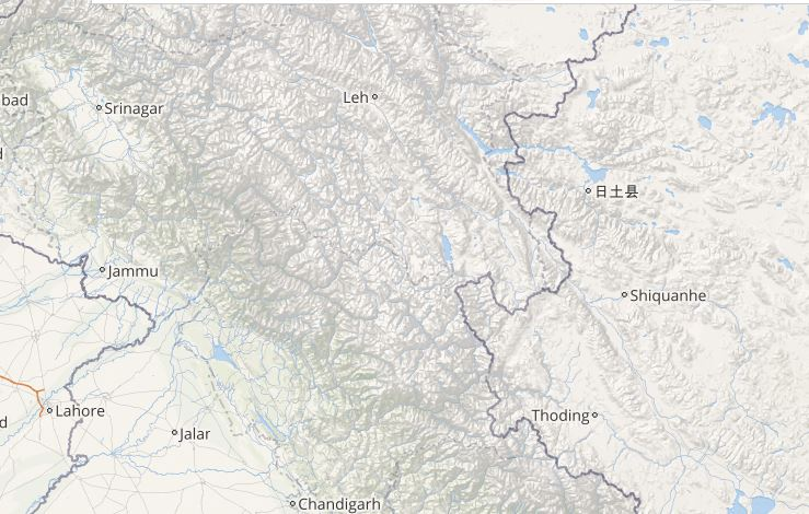 Lightning in Jammu and Kashmir