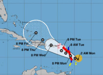 Maria to become Cat 4 hurricane, may follow path of Irma