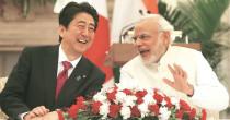 Modi-Abe meeting in Ahmedabad
