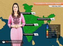Monsoon Forecast for Sep 15, 2017: Rain in Hyderabad, Mumbai, Telangana, Maharashtra