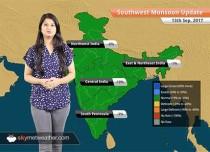 Monsoon Forecast for Sep 14, 2017: Rain in Mumbai, Maharashtra, Telangana, Goa