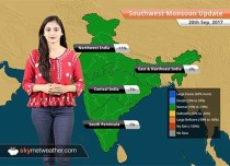 Monsoon Forecast for Sep 21, 2017: Rain in Madhya Pradesh, Chhattisgarh, UP, Bihar