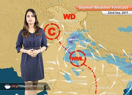 Weather Forecast for Sep 22: Delhi rains to return; Rain in Lucknow, Mumbai