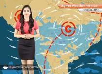 Weather Forecast for Sep 13: Rain in Mumbai, Pune, Kolkata, Dry weather in Delhi