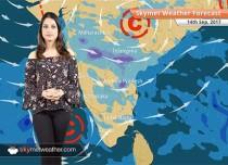 Weather Forecast for Sep 14: Rain in Hyderabad, Mumbai, Bengaluru; Delhi to be dry