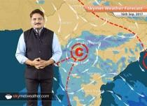 Weather Forecast for September 16: Dry weather to persist in Delhi; Rain in Gujarat, MP, Chhattisgarh