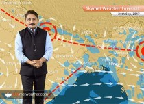Weather Forecast for September 24: Good rain in Uttarakhand, Himachal; light rain in Delhi, UP, Bihar