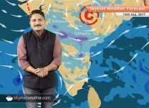 Weather Forecast for September 14: Delhi, Lucknow to be warm and dry; rain in Bhopal, Indore, Nagpur, Mumbai
