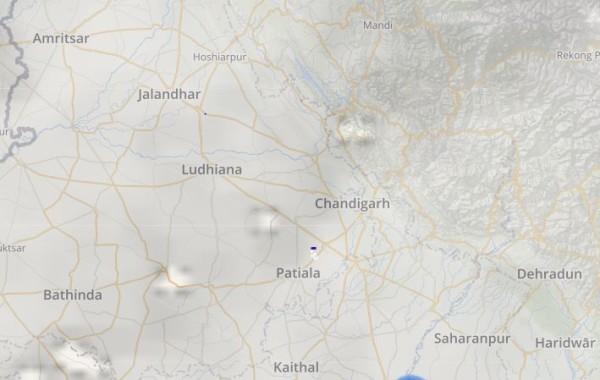 Punjab and Haryana Lightning and Rain