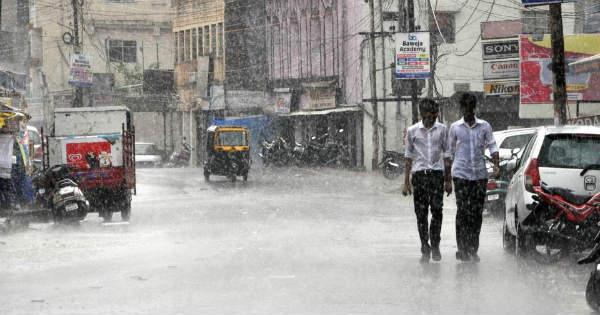 Rain in Bihar Jharkhand and Uttar Pradesh