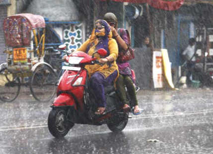Rain in Jharkhand