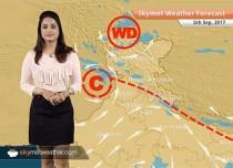 Weather Forecast for Sep 5: Moderate rain in Bengaluru, light showers in Chennai, Kolkata
