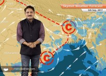 Weather Forecast for September 5: Dry weather in Delhi; Rain in MP, Chhattisgarh, Northeast