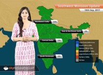 Monsoon Forecast for Sep 19, 2017: Rain in Madhya Pradesh, Chhattisgarh, Bihar, Jharkhand