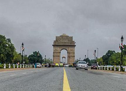 Delhi Cloudy Weather