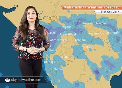 Maharashtra Weather Forecast for Oct 11: More rains to lash Mumbai, Pune, Nagpur, Nashik, Aurangabad