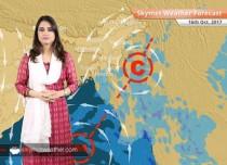 Weather Forecast for Oct 16: Rain in Bengaluru, Chennai; Dry weather in Delhi, Mumbai