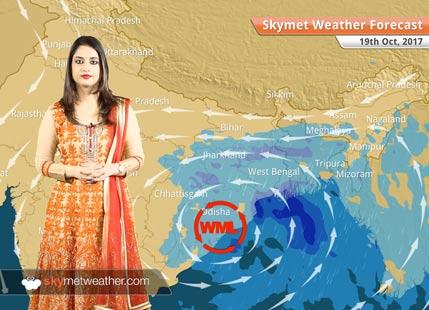 Weather Forecast for Oct 19: Rain in Kolkata, Bengaluru, Chennai; Rain in Kolkata, Bengaluru, Chennai