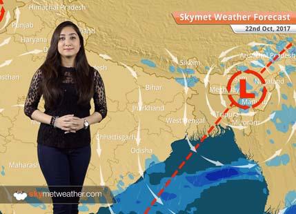 Weather Forecast for Oct 22: Dry weather in Delhi, Mumbai; Rain in Odisha, Northeast India