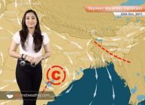 Weather Forecast for Oct 25: Good rains likely in Bengaluru, Chennai; Dry weather in Mumbai, Kolkata