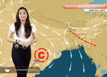 Weather Forecast for Oct 25: Good rains likely in Bengaluru, Chennai; Dry weather in Mumbai, Kolkata