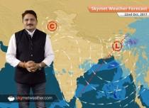 Weather Forecast for Oct 22: Dry weather in Bihar, Jharkhand; Rain in Madhya Pradesh, Chhattisgarh