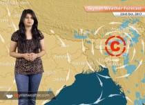 Weather Forecast for Oct 23: Rain in Chhattisgarh, Odisha, Assam; Delhi to be dry