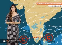 Weather Forecast for Oct 24: Rain in Nagaland, Manipur and Arunachal; Lucknow, Delhi, Patna to remain dry