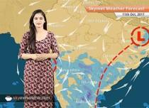 Weather Forecast for Oct 11: Rain in Mumbai, Goa, Ranchi, Hyderabad