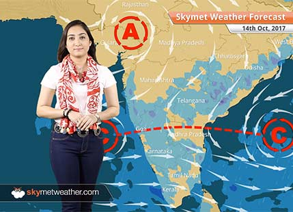 Weather Forecast for Oct 14: Good rains likely in Hyderabad, Chennai, Bengaluru