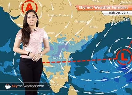 Weather Forecast for Oct 15: Good rains likely in Bengaluru; Mumbai, Chennai, Hyderabad to get light rains