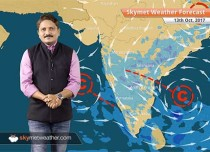 Weather Forecast for Oct 13: Jaipur, Lucknow, Delhi to remain dry; Rain in Chhattisgarh, Odisha, MP