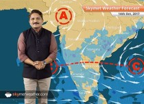 Weather Forecast for Oct 14: Rain in Bihar, parts of MP, Chhattisgarh; Delhi, Haryana remains dry