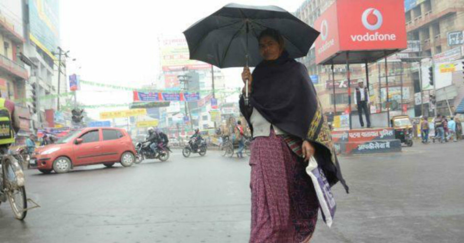 Rain in Patna, Bihar