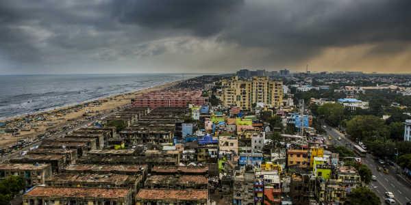 Rain Chennai post