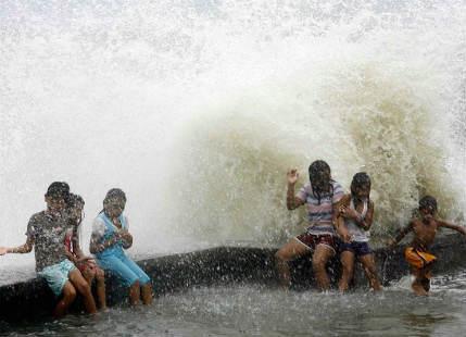 Tropical Storm Saola brings heavy rains in Japan