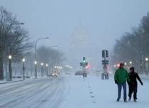 US snow f