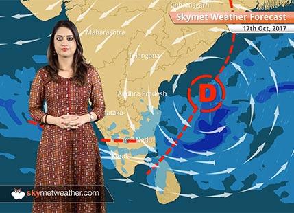 Weather Forecast for Oct 17: More rains in Bengaluru, Chennai; Dry weather in Delhi, Mumbai, Kolkata
