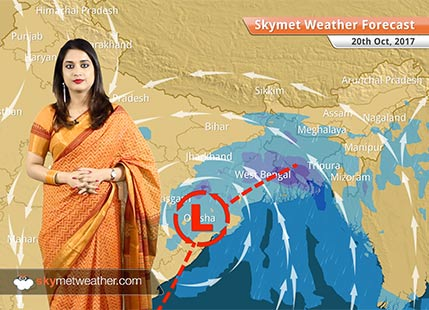 Weather Forecast for Oct 20: Rain in Kolkata, West Bengal, Odisha, Bhubaneswar