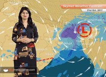 Weather Forecast for Oct 21: Rain in Kolkata, Chennai; dry weather in Delhi, Mumbai