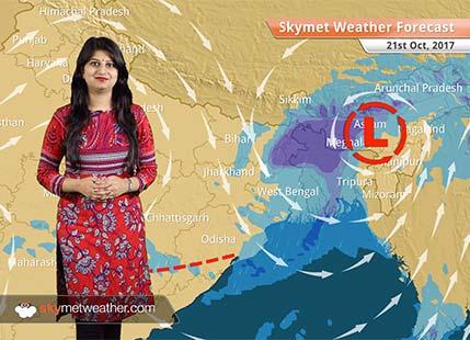 Weather Forecast for Oct 21: Rain in Chhattisgarh, Vidarbha, Bihar, Jharkhand