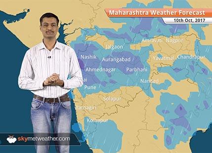 Maharashtra Weather Forecast for Oct 10: Pune, Mumbai, Nashik, Nagpur to continue with good rains