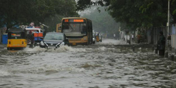 At 183 mm, flooding Chennai rains break record; second highest in a decade