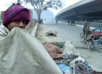 Cold wave in Delhi and NCR